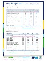 Horaire Ligne 100 – Sept 2020